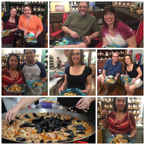 Paella Collage