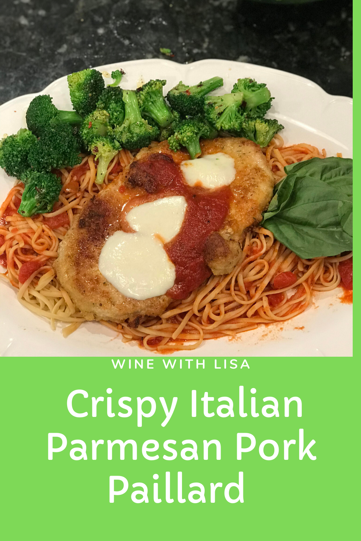 Crispy Italian Parmesan Pork Paillard