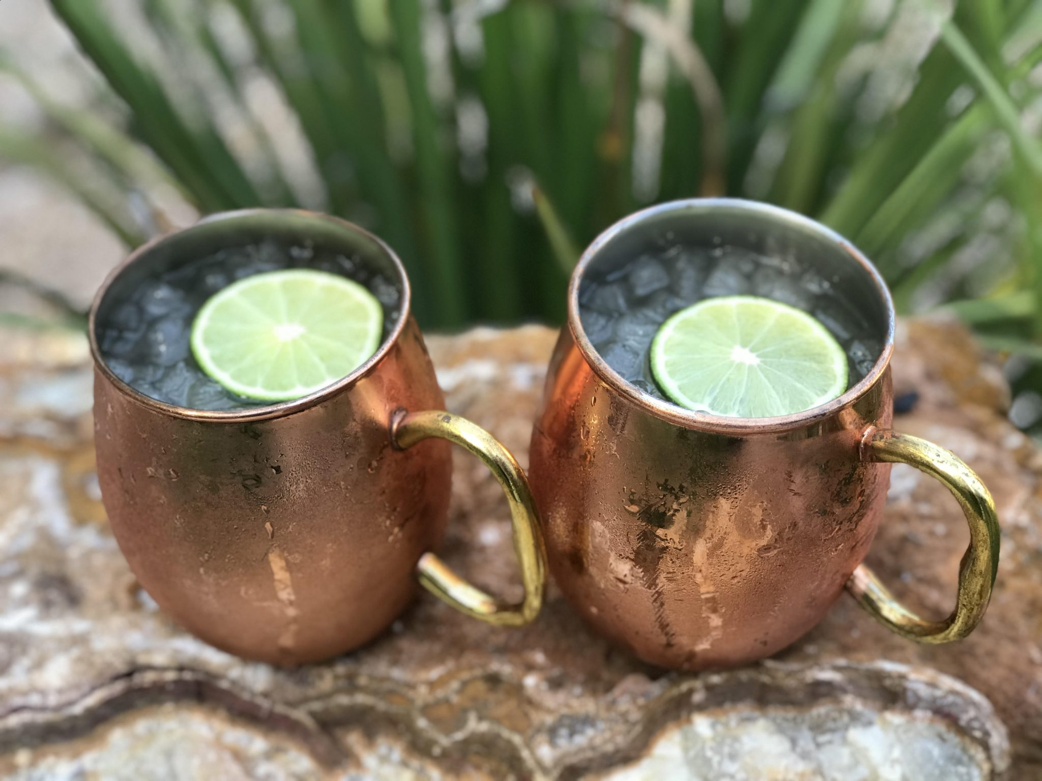 Moscow Mules made with Devils River Whiskey
